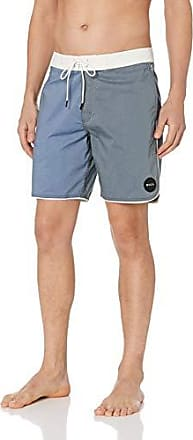 WIHVE Mens Beach Swim Trunks Heart Geometric Figure Round Boxer Swimsuit Underwear Board Shorts with Pocket
