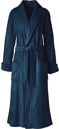 Lands End Womens Regular Plush Fleece Dressing Gown - 10 -12 4632832c8