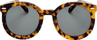 Karen Walker Eyewear Super Duper Strength Round-frame Sunglasses - Womens - Tortoiseshell