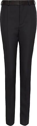 Haider Ackermann Side-stripe Wool Slim-leg Trousers - Womens - Black Multi