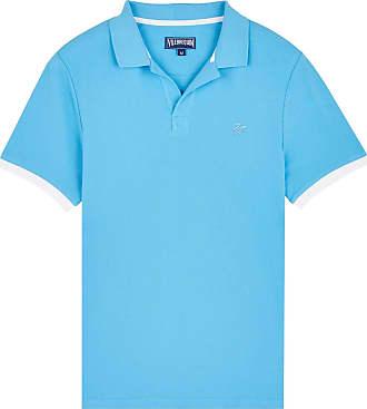 Vilebrequin Men Cotton Pique Polo Shirt Solid - Jaipuy - XXL