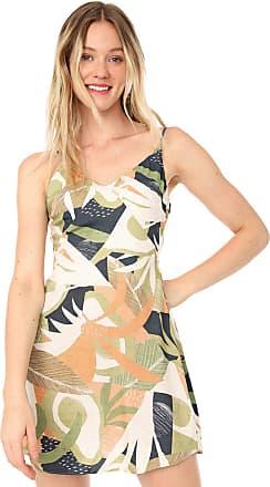 Lez a Lez Vestido Lez a Lez Curto Avocado Bege/Verde