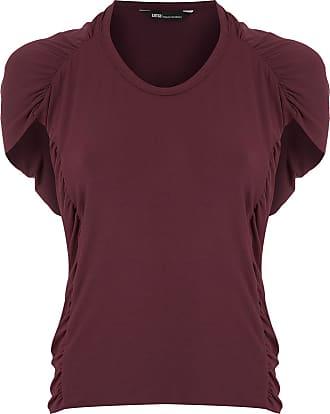 Uma Blusa drappeggiata Cardiff - Di colore rosso
