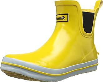 kamik SHARONLO Womens Ankle Boots, Yellow (Yel-Yellow), 8 UK