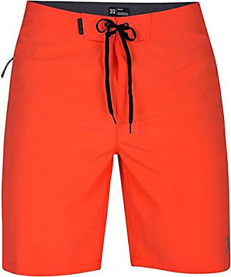 Hurley Mens Phantom P30 One & Only Stretch 20 Boardshort Swim Short, Hyper Crimson, 31