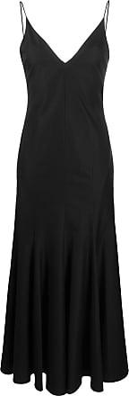 Khaite Vestido longo com abertura posterior - Preto