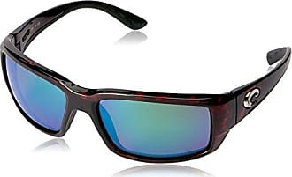 89c20f0b31b Costa Costa del Mar Unisex-Adult Fantail TF 10 OGMGLP Polarized Iridium  Rectangular Sunglasses