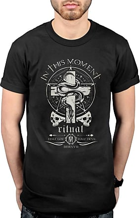 AWDIP Official in This Moment Serpent Logo Crest T-Shirt Black