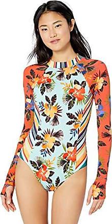 Hobie Juniors Shape It Up Geometric Print One Piece Bodysuit Swimsuit