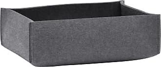 Hey-Sign Aufbewahrungsbox flach 35x25x10cm - anthrazit/Filz in 5mm Stärke