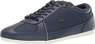 Lacoste Mens EVARA Sneaker, Navy/Grey 7.5 Medium US