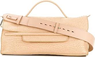 Zanellato Nina textured tote bag - NEUTRALS