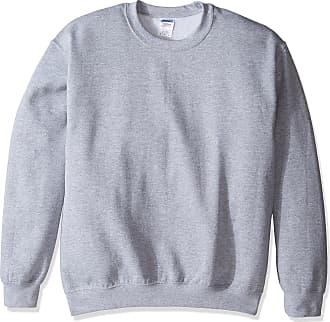 Gildan Mens Crewneck Sweatshirt Shirt, Sport Grey, Medium