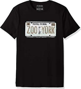 Zoo York Mens Short Sleeve Crew Neck Shirt, Gold Plated Black, X-Large