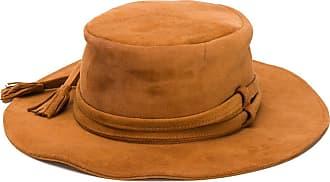 Etro tasseled suede hat - Brown