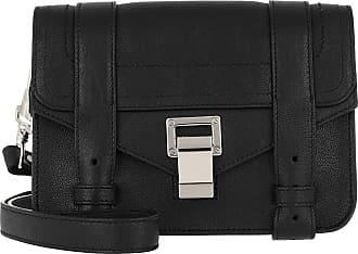 Proenza Schouler PS1 Mini Crossbody Bag Lamb Leather Black Umhängetasche schwarz