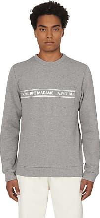 A.P.C. A.p.c. Rue madame crewneck sweatshirt GRIS CHINE S