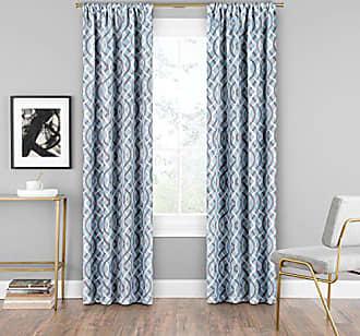 Ellery Homestyles KOZDIKO Eclipse Alperton Darkening Living Room, 37 x 95, Robins Egg Blue