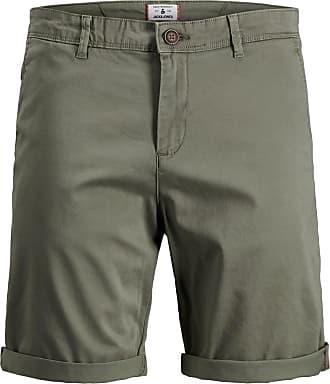 Jack & Jones Stretch Chino Shorts - Grün