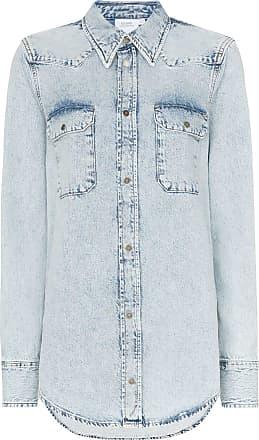 Calvin Klein Western flap pocket denim shirt - Blue