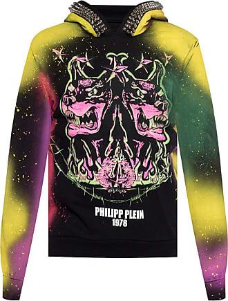 Philipp Plein Hooded Sweatshirt Mens Multicolour
