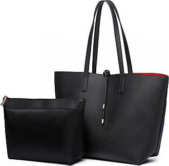 Quirk Miss Lulu Two in One Reversible Tote Shopper Set