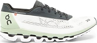 On Cloudbloom Mesh Running Trainers - Mens - White Multi