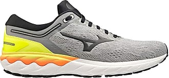Mizuno Mens Wave SKYRISE Road Running Shoe, Fgray Phantom Syellow, 7 UK