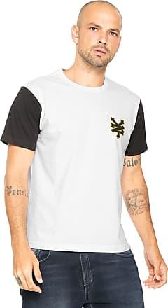 Zoo York Camiseta Zoo York Playoffs Branca/Preta