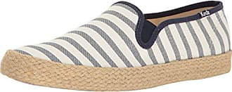 Keds Womens Champion Slip Breton Stripe Jute Fashion Sneaker, Cream, 7.5 M US