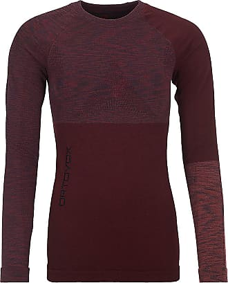 Ortovox Merino Comp Tech Tee LS dark wine blend