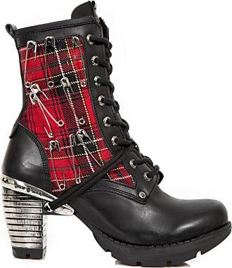 New Rock NR M.220 S2 Black Boots Unisex Metallic