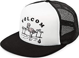 4f29f152aed23d Volcom Juniors Womens Stoke Made Adjustable Trucker Hat, White, One Size  Fits All