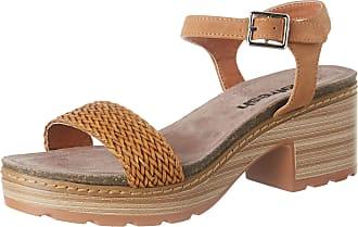 Refresh Womens 69500 Platform Sandals, Brown (Camel Camel), 4 UK
