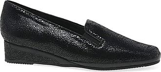 Van Dal Rochester II Womens Wedge Heel Shoes 6.5 UK Black Crackle Print
