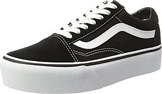 17441fe91b Vans Damen Old Skool Platform Sneaker Schwarz (Black White Y28) 36.5 EU