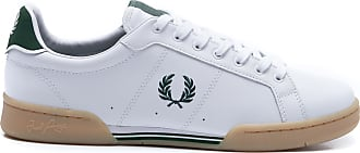 Fred Perry TÊNIS MASCULINO LEATHER - OFF WHITE