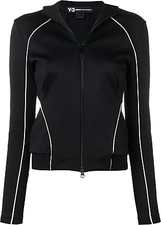 Yohji Yamamoto piped trim jacket - Black