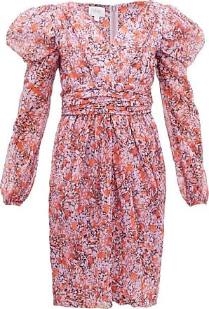 Giambattista Valli Floral-print Silk-georgette Dress - Womens - Pink Multi