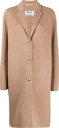 Acne Studios single-breasted coat - Neutrals