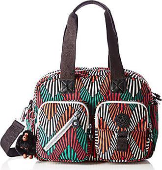 c6b18671e Kipling Defea, Bolsos de mano Mujer, Multicolour (Tropic Palm Ct), 33x24