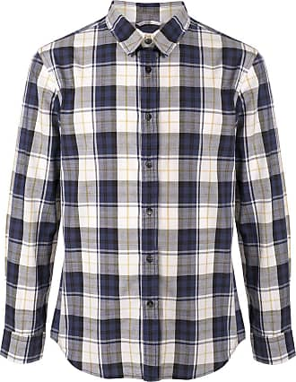 Kent & Curwen check pattern shirt - Blue