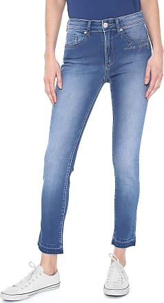 Zoomp Calça Jeans Zoomp Skinny Ingrid Azul