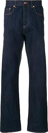 Natural Selection Calça jeans com cós alto - Azul