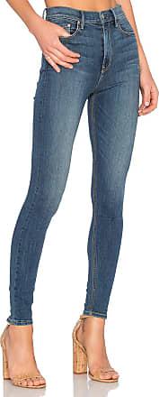 GRLFRND Kendall High-Rise Super Stretch Skinny Jean in Blue