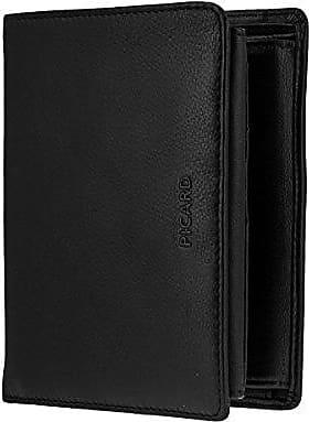 Picard Softy 1 Geldbörse Geldbeutel Portemonnaie Leder 14 cm schwarz