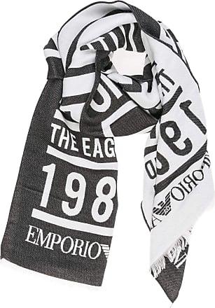 Emporio Armani men scarf black