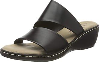 Jana Womens 8-8-27205-24 Mules, Black 001, 7.5 UK
