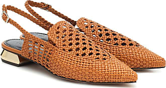 Souliers Martinez Gloria leather slingback sandals