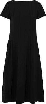 Acne Studios Acne Studios Woman Pleated Twill Dress Black Size 36